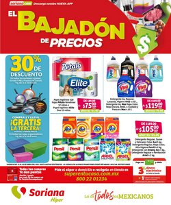 Ofertas de Hiper-Supermercados en el catálogo de Soriana Híper en Cuajimalpa de Morelos ( 3 días más )