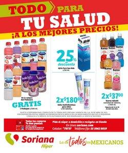 Ofertas de Hiper-Supermercados en el catálogo de Soriana Híper en Guadalupe (Nuevo León) ( 14 días más )