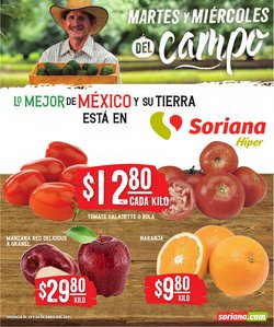 Ofertas de Hiper-Supermercados en el catálogo de Soriana Híper en Naucalpan (México) ( Caduca hoy )