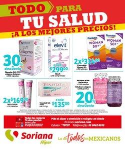 Ofertas de maquillaje en el catálogo de Soriana Híper ( 14 días más)