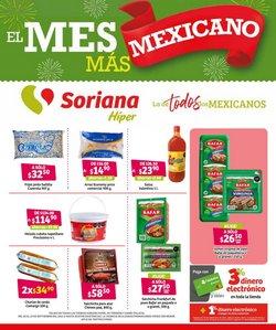 Ofertas de Hiper-Supermercados en el catálogo de Soriana Híper ( Publicado ayer)