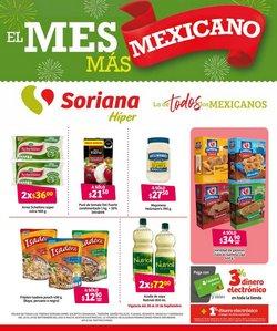 Ofertas de Hiper-Supermercados en el catálogo de Soriana Híper ( 3 días más)