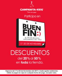 Ofertas de Campanita & Kids  en el folleto de Tlalpan (Distrito Federal)