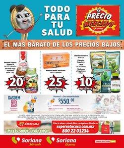 Ofertas de Vitaminas en Soriana Mercado