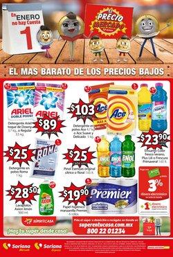 Ofertas de Hiper-Supermercados en el catálogo de Soriana Mercado en Cuajimalpa de Morelos ( 3 días más )