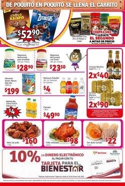 Ofertas de Bienestar en Soriana Mercado