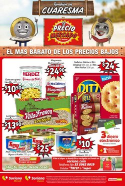 Ofertas de Salsas en Soriana Mercado