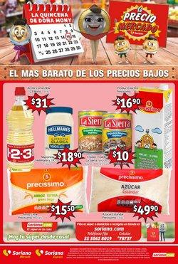 Ofertas de Hiper-Supermercados en el catálogo de Soriana Mercado ( Vence mañana)