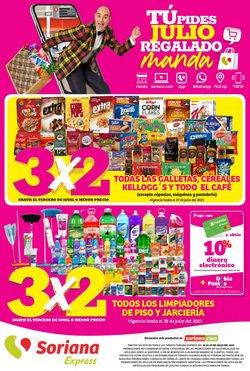 Ofertas de Hiper-Supermercados en el catálogo de Soriana Mercado ( Publicado ayer)
