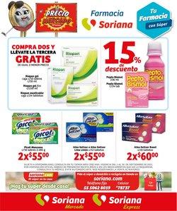 Ofertas de Hiper-Supermercados en el catálogo de Soriana Mercado ( Publicado hoy)