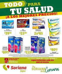 Ofertas de Hiper-Supermercados en el catálogo de Soriana Súper en Saltillo ( 3 días publicado )