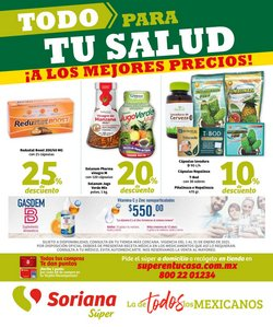 Ofertas de Hiper-Supermercados en el catálogo de Soriana Súper en Tijuana ( 14 días más )