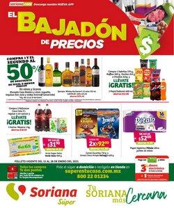 Ofertas de Hiper-Supermercados en el catálogo de Soriana Súper en La Paz ( 3 días publicado )