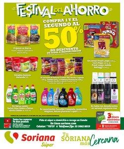 Ofertas de Hiper-Supermercados en el catálogo de Soriana Súper ( 4 días más )