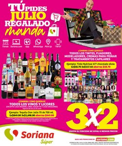 Ofertas de Soriana Súper en el catálogo de Soriana Súper ( Vence mañana)