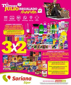 Ofertas de Hiper-Supermercados en el catálogo de Soriana Súper ( Vence hoy)