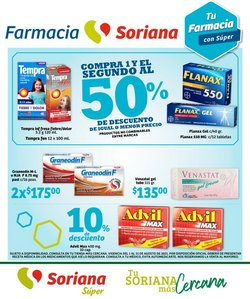 Ofertas de Hiper-Supermercados en el catálogo de Soriana Súper ( Publicado ayer)