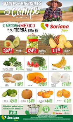 Ofertas de Hiper-Supermercados en el catálogo de Soriana Súper ( Vence mañana)
