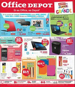 Ofertas de Office Depot  en el folleto de Los Mochis