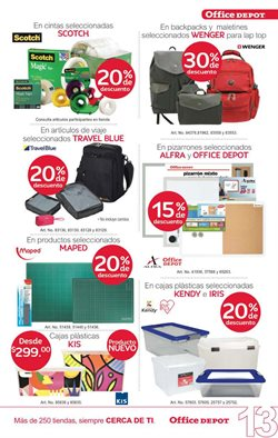 Ofertas de Muebles  en el folleto de Office Depot en Salamanca