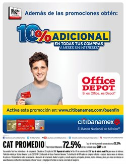 Ofertas de Office Depot  en el folleto de Cuernavaca