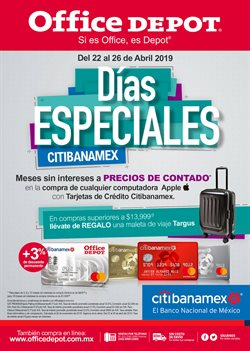 Ofertas de Office Depot  en el folleto de Monterrey