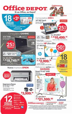 Ofertas de Office Depot  en el folleto de Zapopan