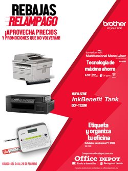 Catálogo Office Depot en Tijuana ( Vence mañana )