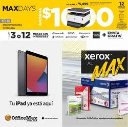 Ofertas de OfficeMax en el catálogo de OfficeMax ( Publicado hoy)