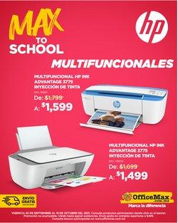 Ofertas de Electrónica y Tecnología en el catálogo de OfficeMax ( Vence mañana)