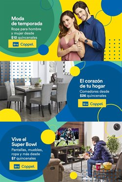 Ofertas de Tiendas Departamentales en el catálogo de Coppel en San Luis Río Colorado ( Publicado ayer )