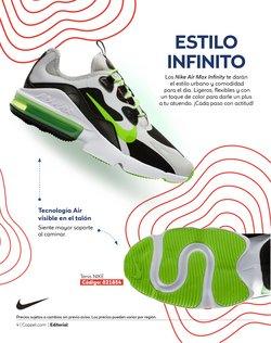 Ofertas de Nike en el catálogo de Coppel ( 4 días más)