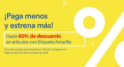 Ofertas de Coppel  en el folleto de Guaymas