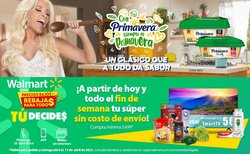 Ofertas de Hiper-Supermercados en el catálogo de Walmart ( Vence mañana )