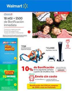 Ofertas de Hiper-Supermercados en el catálogo de Walmart en Guadalupe (Nuevo León) ( Caduca hoy )