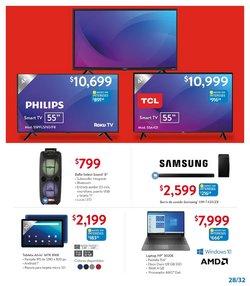 Ofertas de Samsung en el catálogo de Walmart ( 8 días más)
