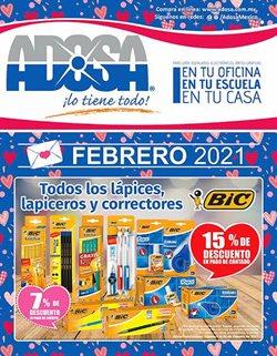 Catálogo Adosa ( Vence mañana )
