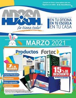 Catálogo Adosa en Monterrey ( Caducado )