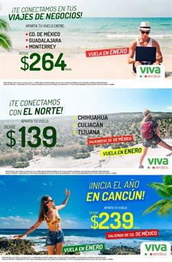 Ofertas de Viajes en el catálogo de VivaAerobus en Ciudad Río Bravo ( Vence mañana )