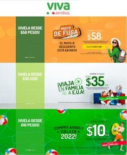 Ofertas de Viajes en el catálogo de VivaAerobus en Ecatepec de Morelos ( Caduca hoy )