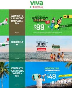 Ofertas de Viajes en el catálogo de VivaAerobus ( 15 días más)