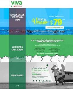 Ofertas de VivaAerobus en el catálogo de VivaAerobus ( 7 días más)