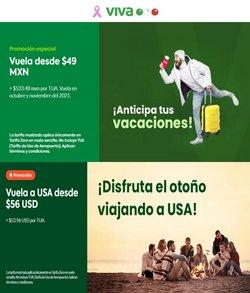 Ofertas de Viajes en el catálogo de VivaAerobus ( 10 días más)