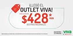 Ofertas de VivaAerobus  en el folleto de Monterrey