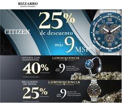 Ofertas de Ropa, Zapatos y Accesorios en el catálogo de Joyerías Bizzarro ( 5 días más)