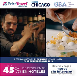 Ofertas de Viajes  en el folleto de Price Travel en Tepic