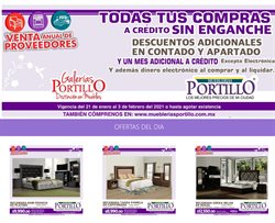 Catálogo Mueblerías Portillo ( 3 días publicado )