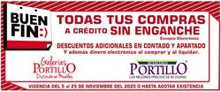 Cupón Mueblerías Portillo en San Pedro Garza García ( Vence mañana )