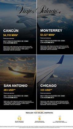 Ofertas de Viajes Palacio en el catálogo de Viajes Palacio ( Vencido)
