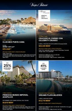 Ofertas de Viajes en el catálogo de Viajes Palacio ( 28 días más)